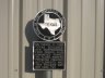 Texas Building With TX Plaque Painted By LSC Creation