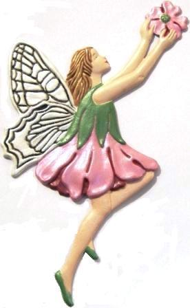 Garden Fairy, Custom Hand-Painted