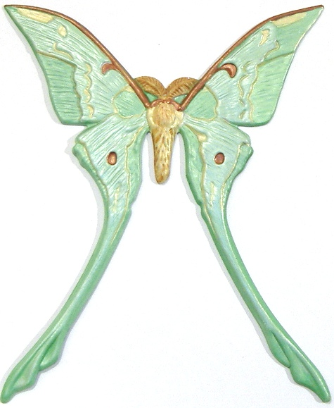 Luna Moth, Custom Hand-Painted