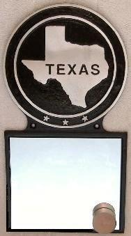 Mirror State Plaque Hand-Painted