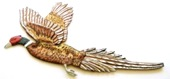 Pheasant Hand-Painted Wall Decor Customized Personalized-Back