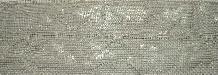 Ivy, Coarse, Wire Mesh Banding 3.5""